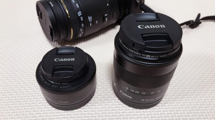 Canon M10 ダブルズームキットを買ってみた (ミラーレス一眼)