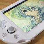 PS Vita PCH-2000の黄ばんだ液晶を交換してみた (Vita)