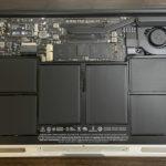開封したらベタベタ! (MacBook Air 11 2015)