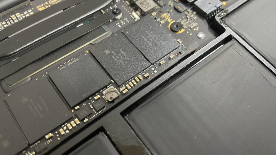 バッテリー液漏れだけどAランク品のMacBook (MacBook Air 11inch 2015)